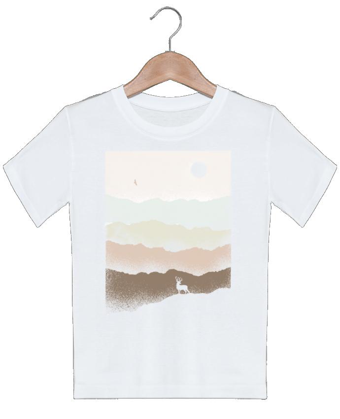 T-shirt garçon motif Quietude Florent Bodart