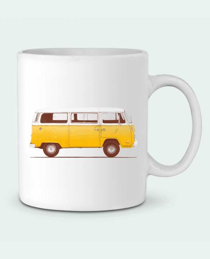 Mug en Céramique Yellow Van par Florent Bodart