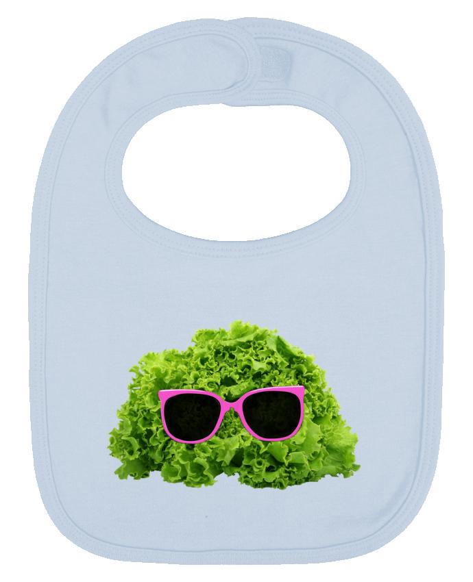 Bavoir Uni et Contrasté Mr Salad par Florent Bodart