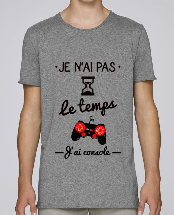 T-shirt Homme Oversized Stanley Skates Pas le temps, j'ai console, tee shirt geek,gamer par Benichan