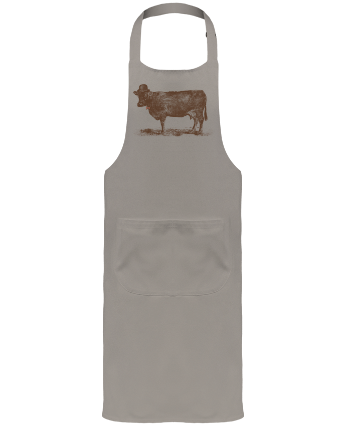 Tablier de Jardinier ou Sommelier avec Poche Cow Cow Nut par Florent Bodart