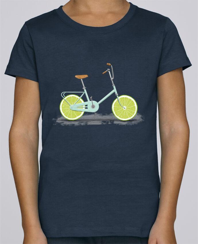 T-shirt Fille Mini Stella Draws Acid par Florent Bodart