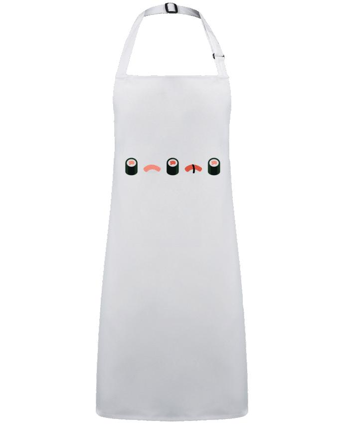 Tablier Sans Poche Sushi par  GWEN