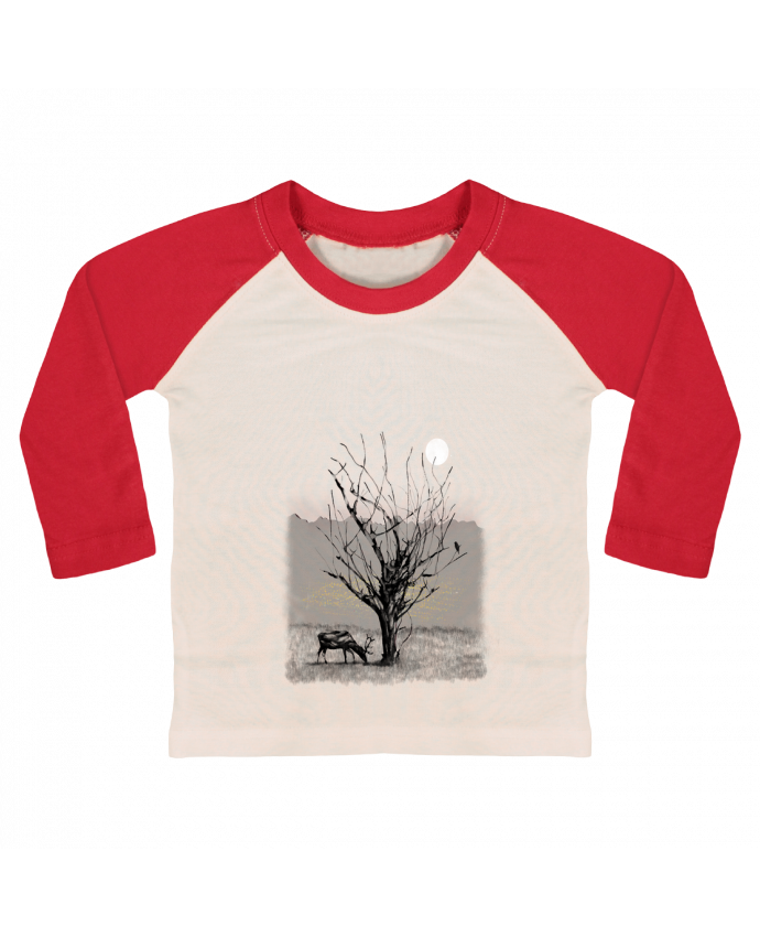 T-shirt Bébé Baseball Manches Longues The view par Florent Bodart