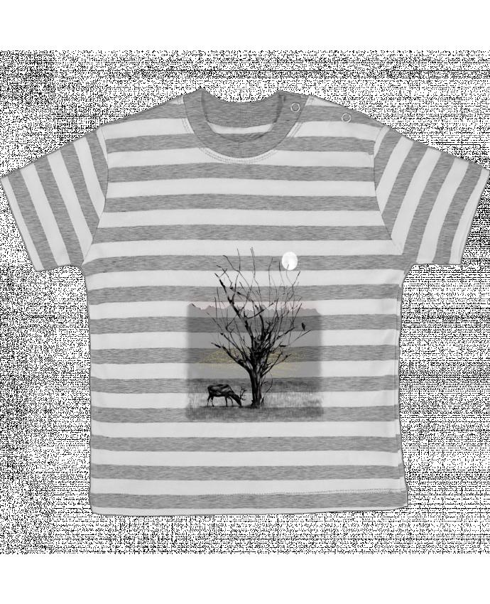 T-shirt Bébé à Rayures The view par Florent Bodart