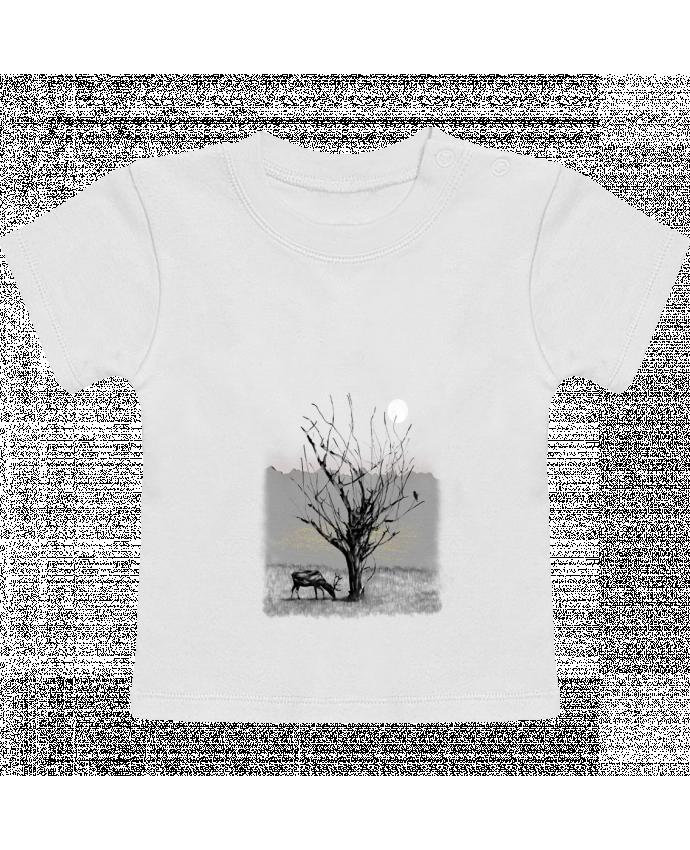 T-Shirt Bébé Manches Courtes The view manches courtes du designer Florent Bodart