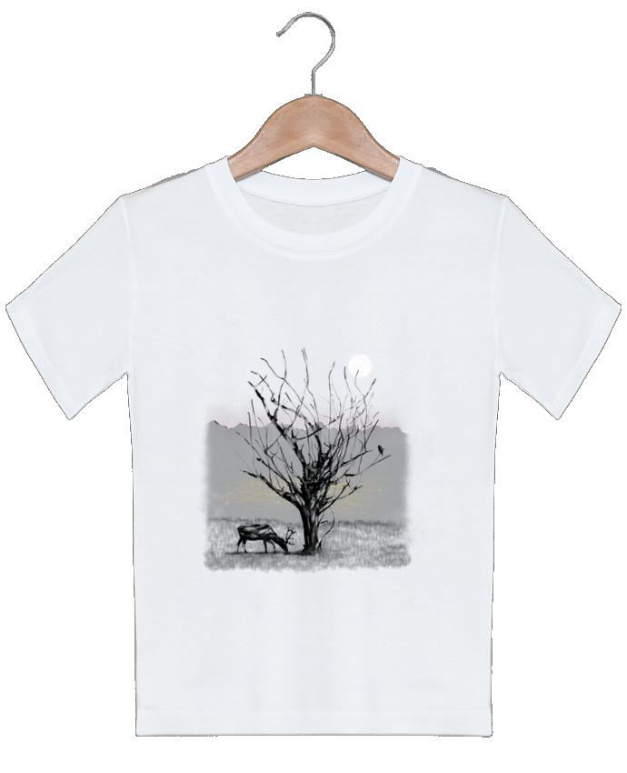T-shirt garçon motif The view Florent Bodart