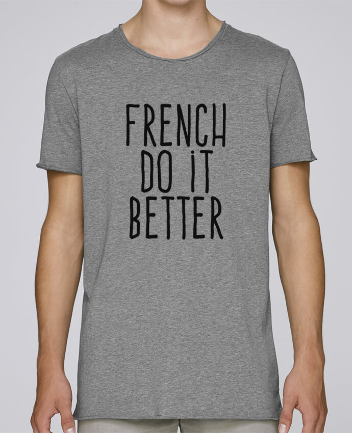 T-shirt Homme Oversized Stanley Skates French do it better par justsayin