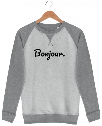 Sweat French Terry Bonjour. par tunetoo