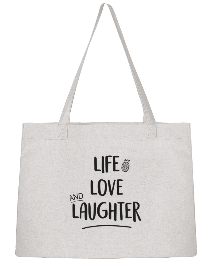 Sac Cabas Shopping Stanley Stella Life, love and laughter... par IDÉ'IN