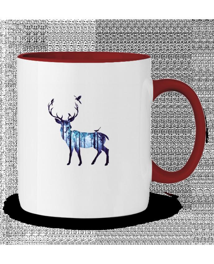 Mug en Céramique Bicolore Deer Likagraphe