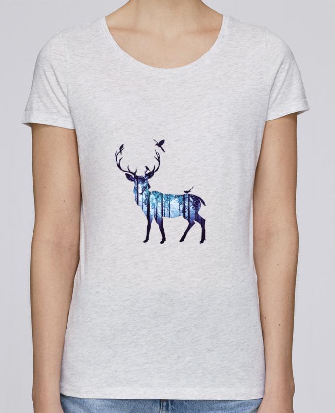 T-shirt Femme Stella Loves Deer par Likagraphe