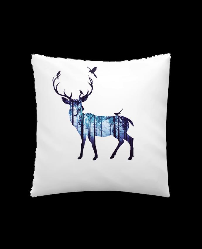 Coussin Synthétique Doux 41 x 41 cm Deer par Likagraphe