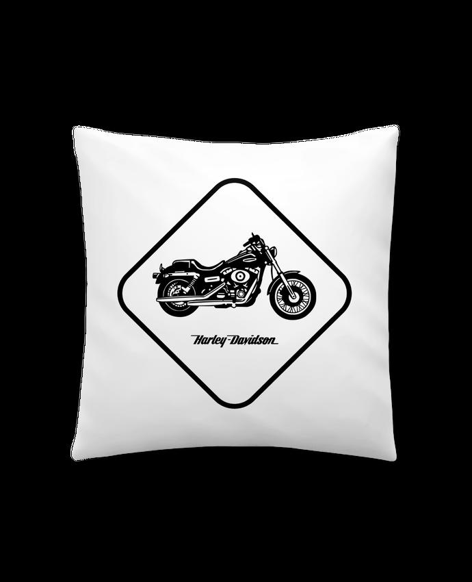 Coussin Synthétique Doux 41 x 41 cm Harley Davidson par Likagraphe