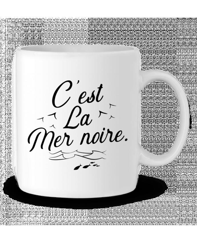 Mug en Céramique C'est la mer noire par Original t-shirt
