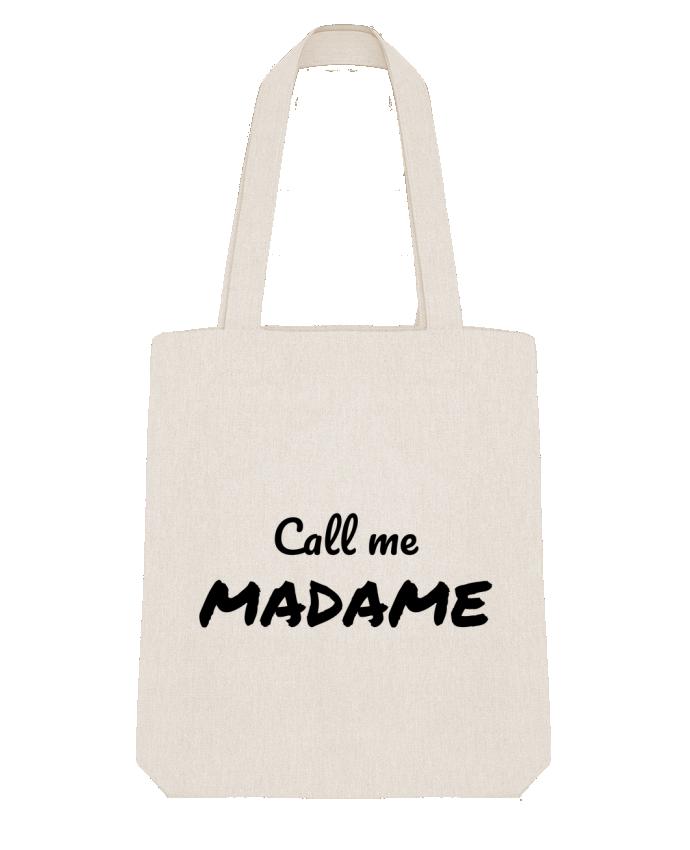 Tote Bag Stanley Stella Call me MADAME par Madame Loé