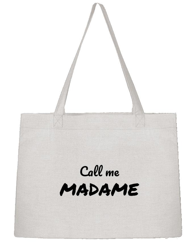 Sac Cabas Shopping Stanley Stella Call me MADAME par Madame Loé
