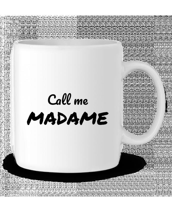 Mug en Céramique Call me MADAME par Madame Loé