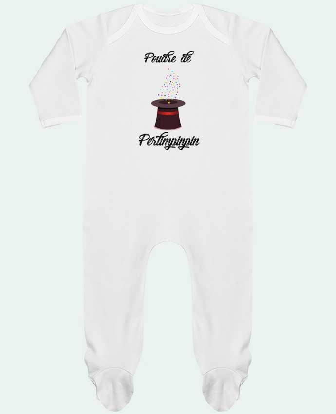 Body Pyjama Bébé Poudre de Perlimpinpin VS Merlin par tunetoo