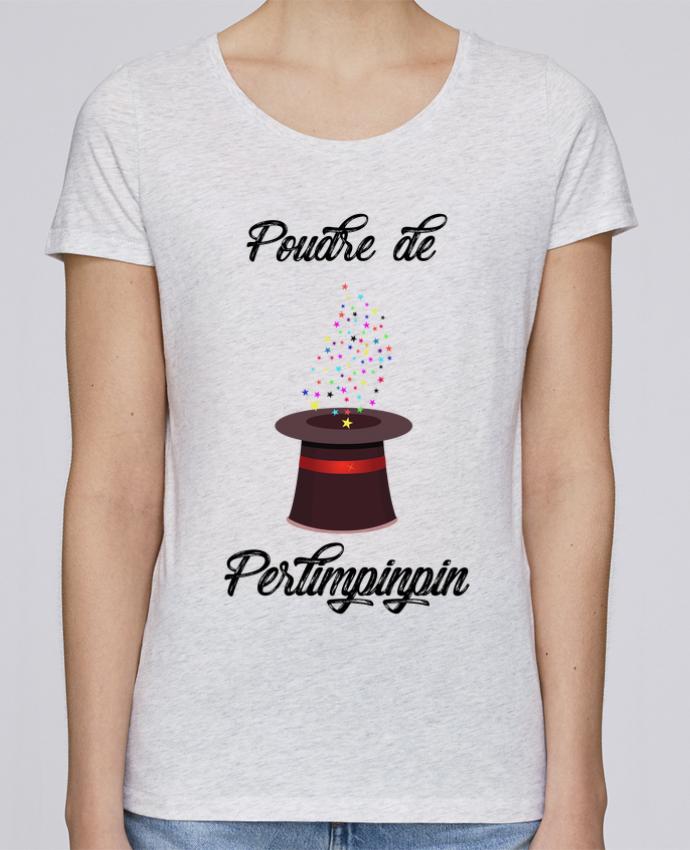T-shirt Femme Stella Loves Poudre de Perlimpinpin VS Merlin par tunetoo