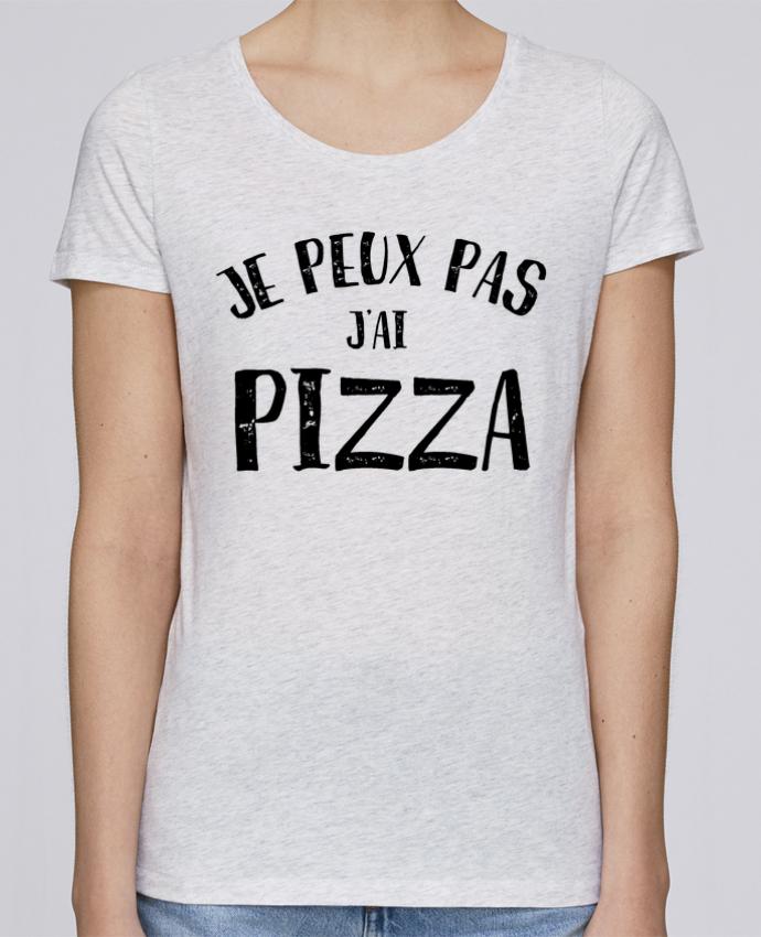 T-shirt Femme Stella Loves Je peux pas j'ai Pizza par NumericEric