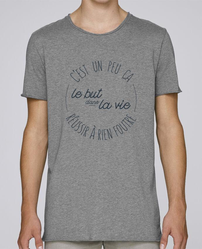 T-shirt Homme Oversized Stanley Skates C'est un peu ça le but dans la vie réussir à rien foutre par tune