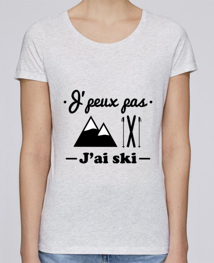 T-shirt Femme Stella Loves J'peux pas j'ai ski par Benichan