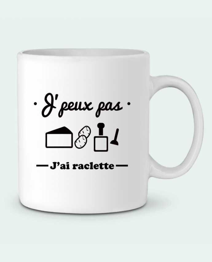 Mug en Céramique J'peux pas j'ai raclette par Benichan