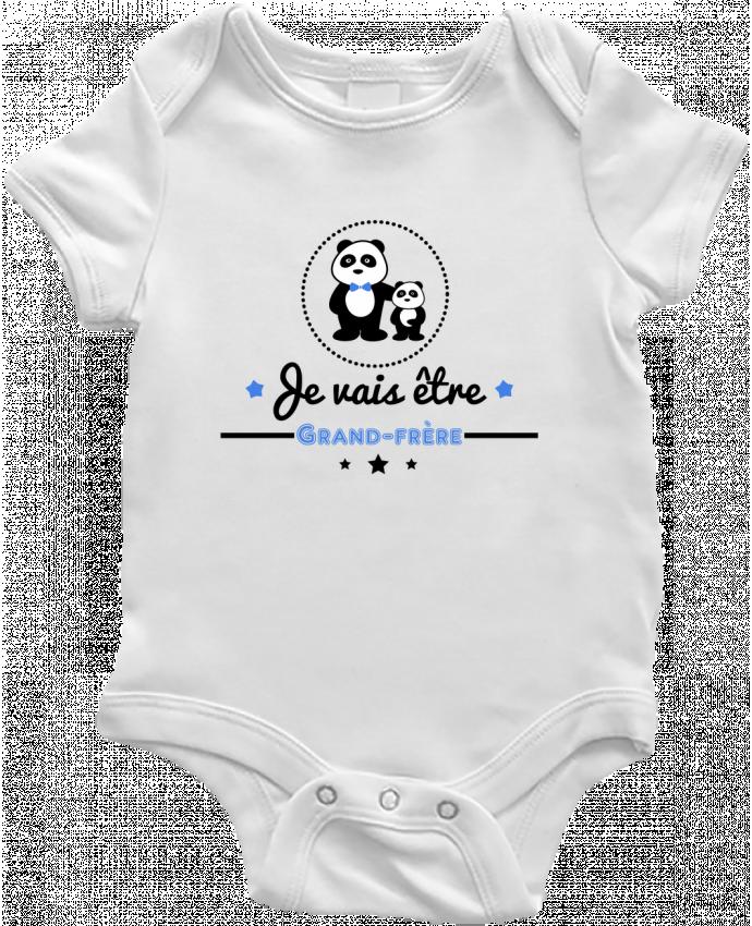 Body Bébé Bientôt grand-frère - futur grand frère par Benichan