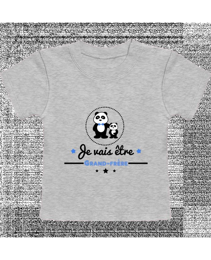 T-Shirt Bébé Manches Courtes Bientôt grand-frère - futur grand frère manches courtes du designer Benichan