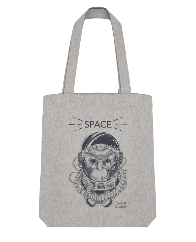 Tote Bag Stanley Stella Monkey space par Mauvaise Graine