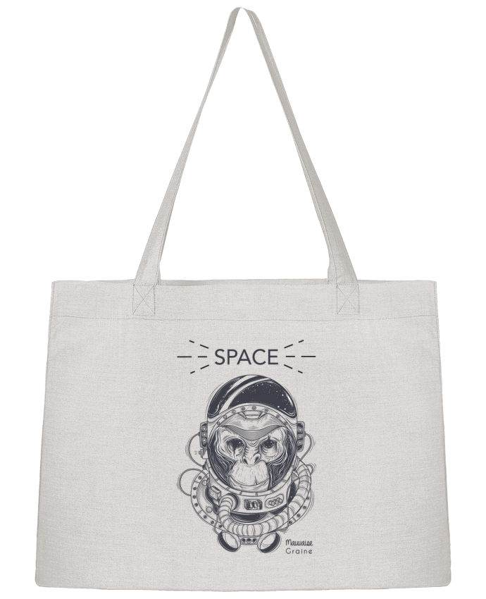Sac Cabas Shopping Stanley Stella Monkey space par Mauvaise Graine