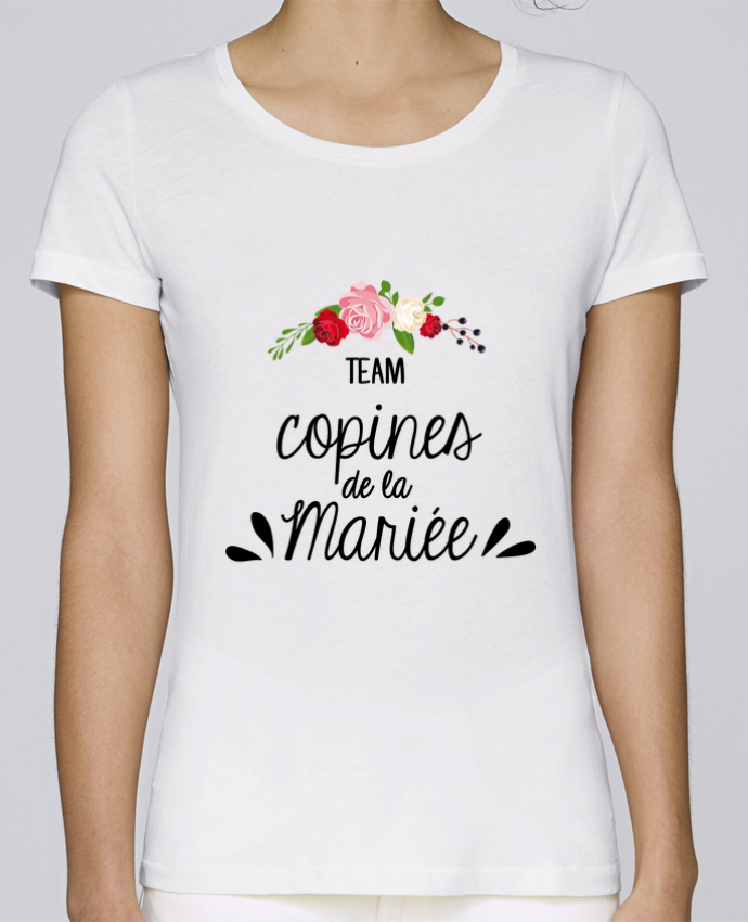 T-shirt Femme Stella Loves TEAM COPINES DE LA MARIEE par FRENCHUP-MAYO