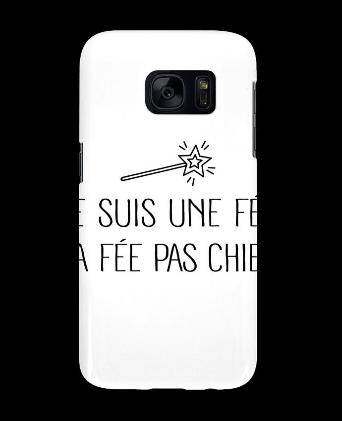 Coque 3D Samsung Galaxy S7 Je suis une fée la fée pas chier par Freeyourshirt.com