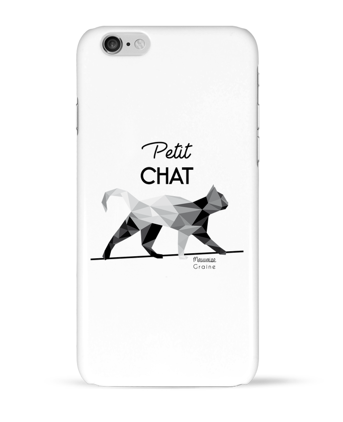 Coque 3D Iphone 6 Petit chat origami par Mauvaise Graine