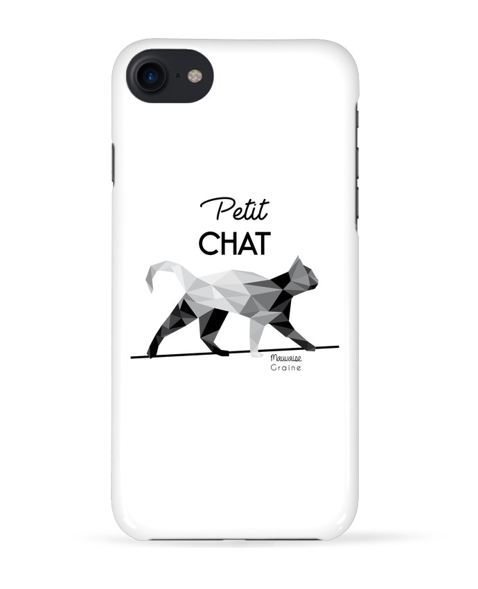Coque 3D Iphone 7 Petit chat origami de Mauvaise Graine