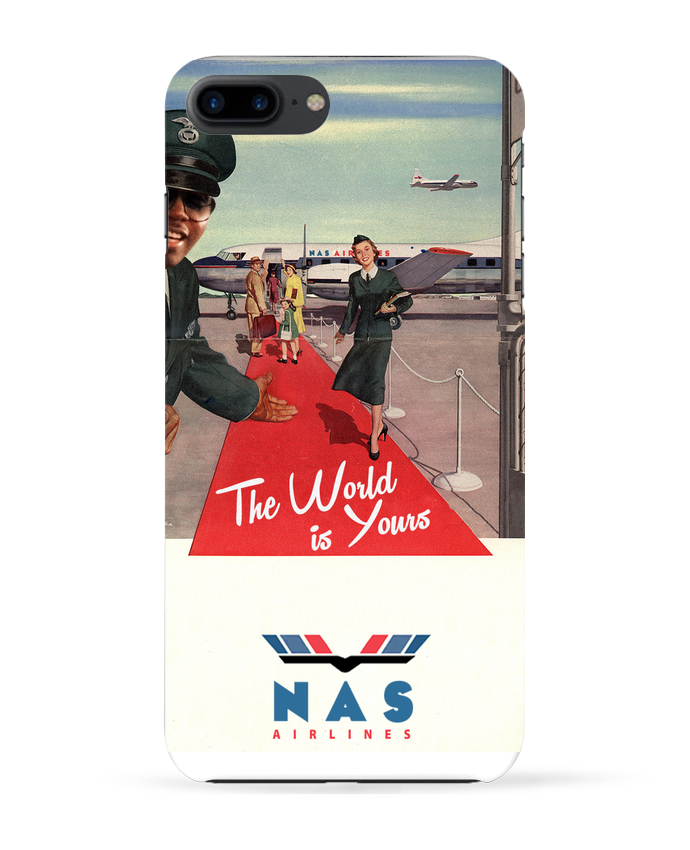 Coque 3D Iphone 7+ Nas Airlines par Ads Libitum