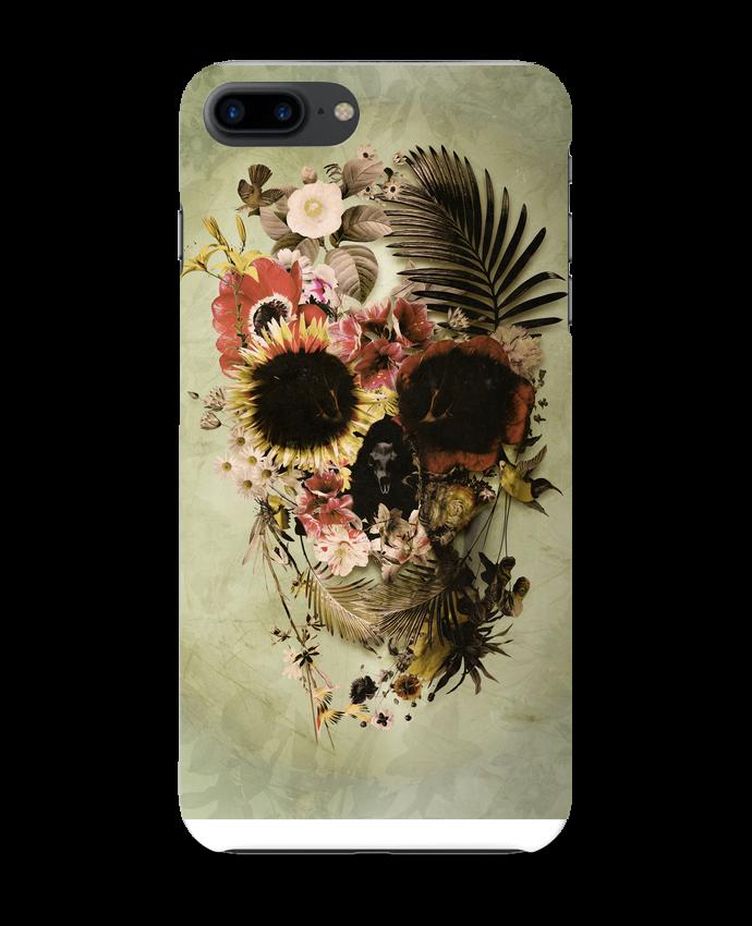 Coque 3D Iphone 7+ Garden Skull par ali_gulec