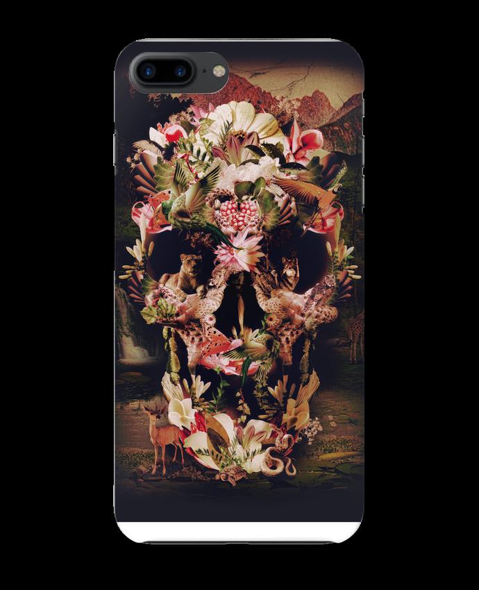Coque 3D Iphone 7+ Jungle Skull par ali_gulec