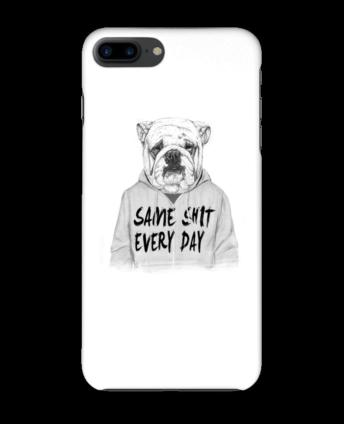 Coque iPhone 7 + Same shit every day par Balàzs Solti
