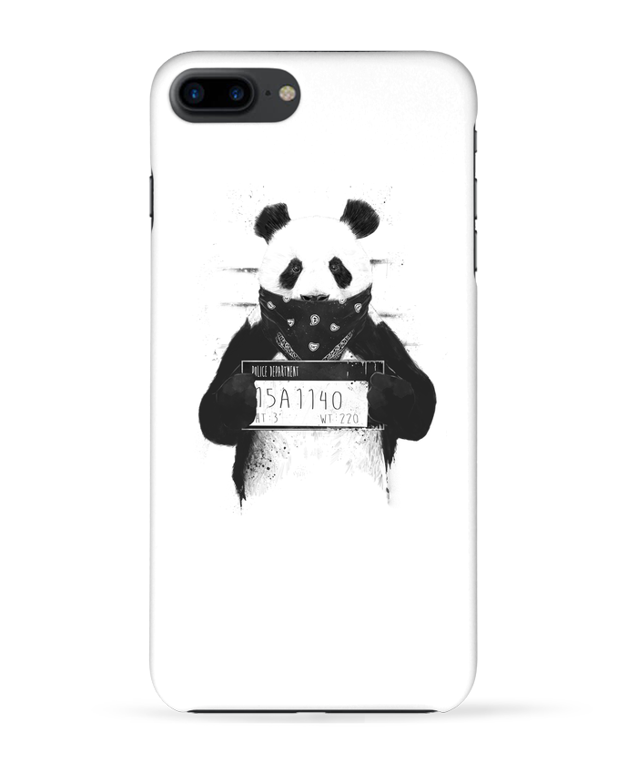 Coque 3D Iphone 7+ Bad panda par Balàzs Solti