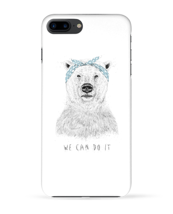 Coque 3D Iphone 7+ we_can_do_it par Balàzs Solti