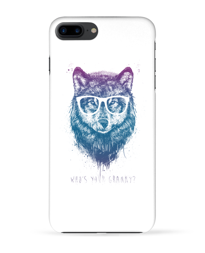 Coque 3D Iphone 7+ whos_your_granny par Balàzs Solti