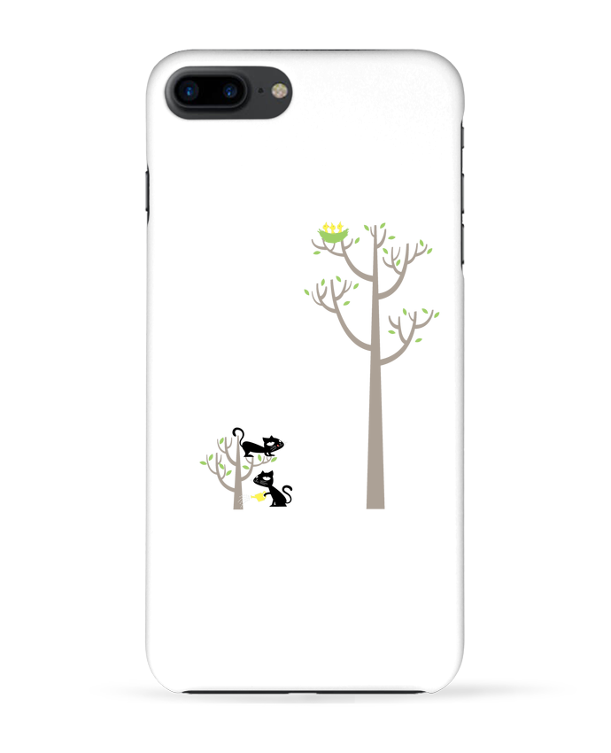 Coque 3D Iphone 7+ Growing a plant for Lunch par flyingmouse365