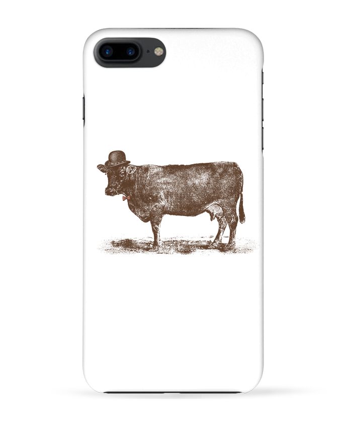 Coque 3D Iphone 7+ Cow Cow Nut par Florent Bodart
