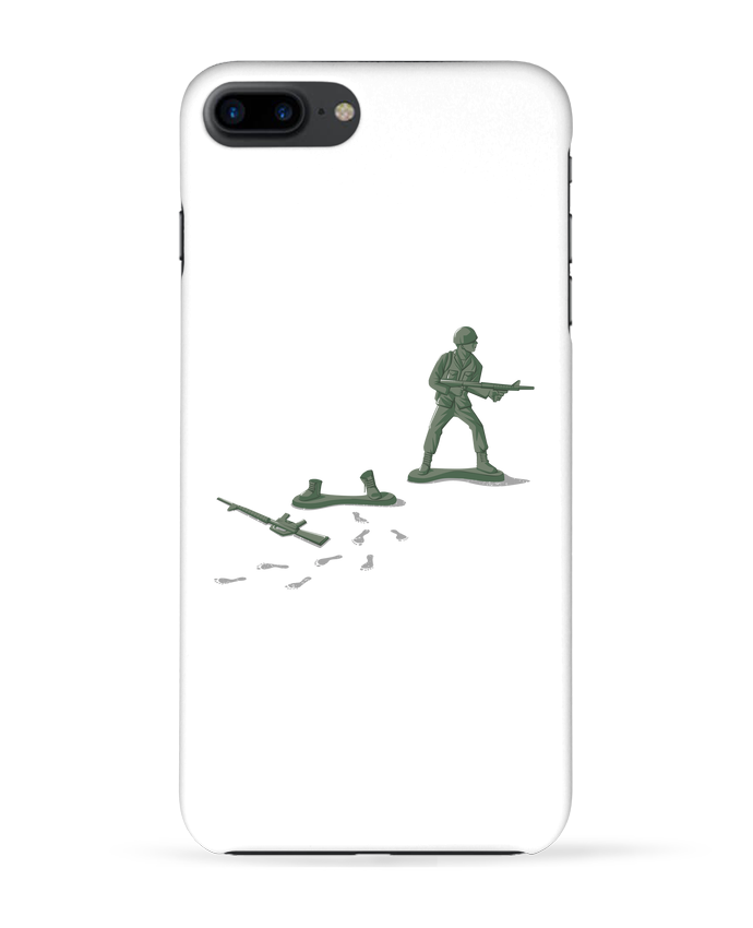 Coque 3D Iphone 7+ Deserter par flyingmouse365