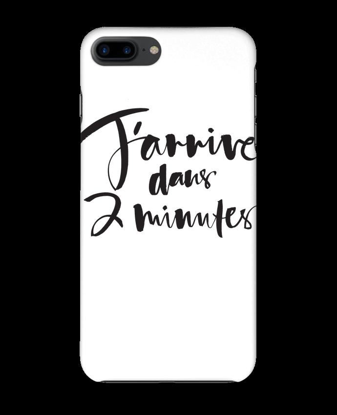 Coque iPhone 7 + J'arrive dans 2 minutes par Promis