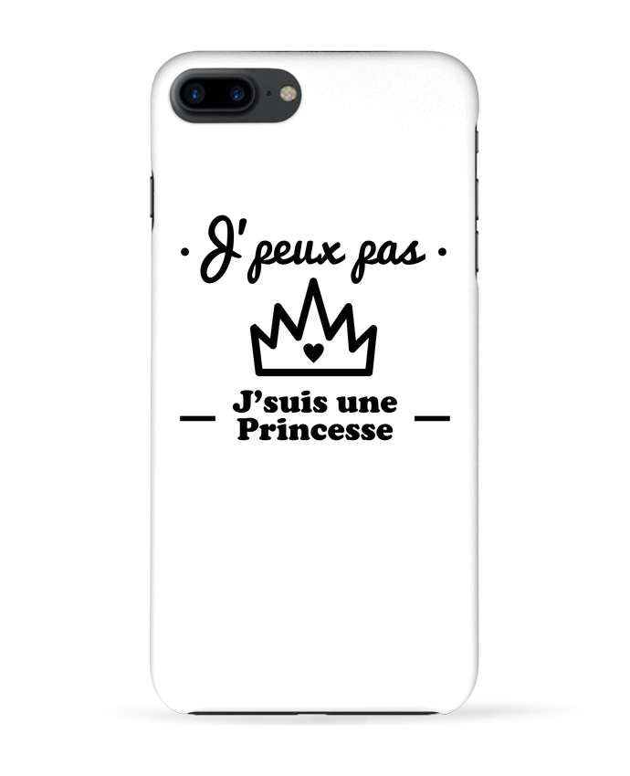 1653003 coque 3d iphone 7 blanc j peux pas j suis une princesse humour citations drole by benichan