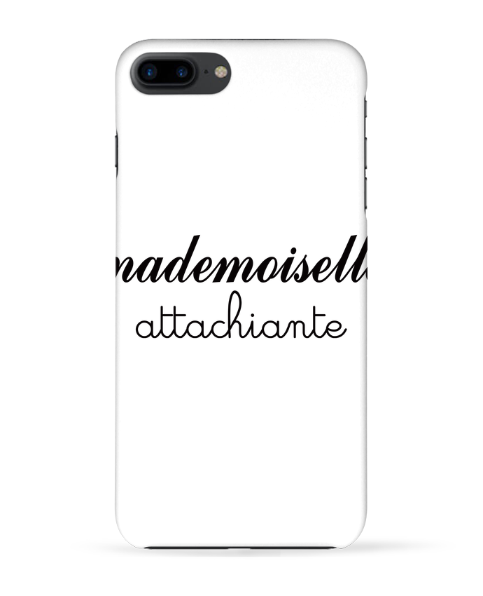 Coque 3D Iphone 7+ Mademoiselle Attachiante par Freeyourshirt.com