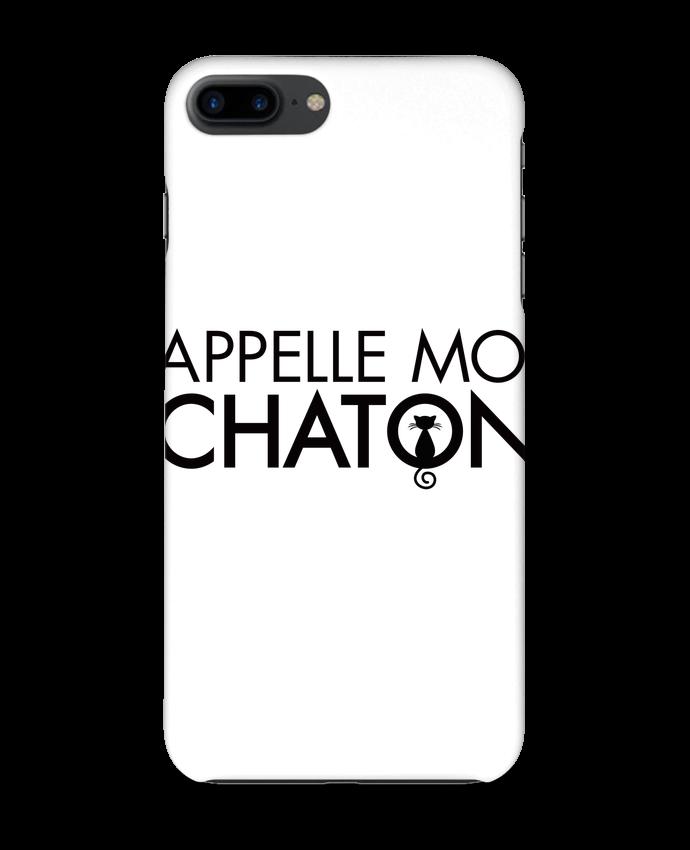 Coque 3D Iphone 7+ Appelle moi Chaton par Freeyourshirt.com